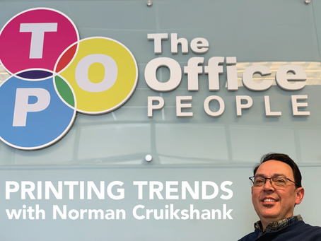 Sharp Electronics and The Office People Discuss Printing Trends in 2019