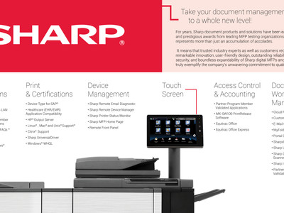 Sharp Products   Why Choose Them?