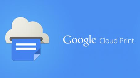 Google Cloud Print for New MFP Models