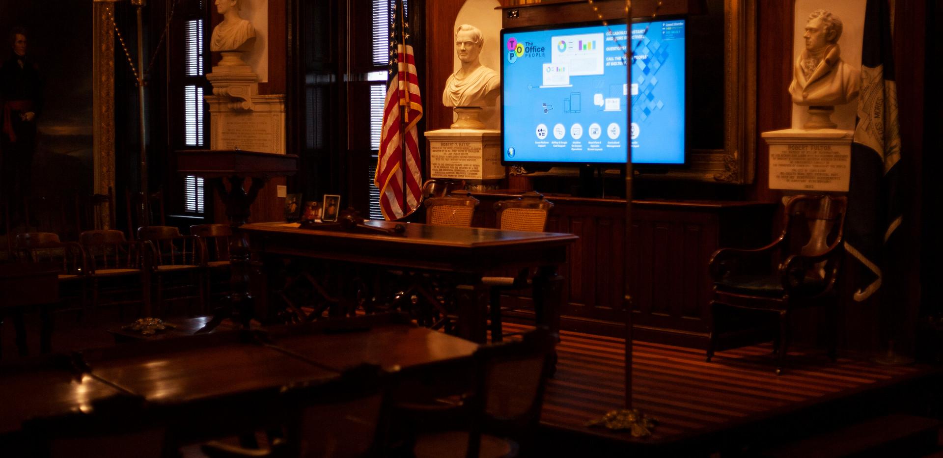 City of Charleston Council Chambers