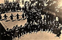 Foto scuola Maria Bambina anni 1930