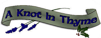 a knot in thyme logo