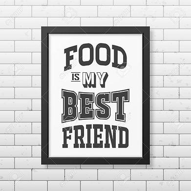 46672661-la-nourriture-est-mon-meilleur-