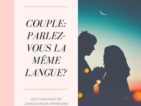 Couple: Parlez-vous la même langue?