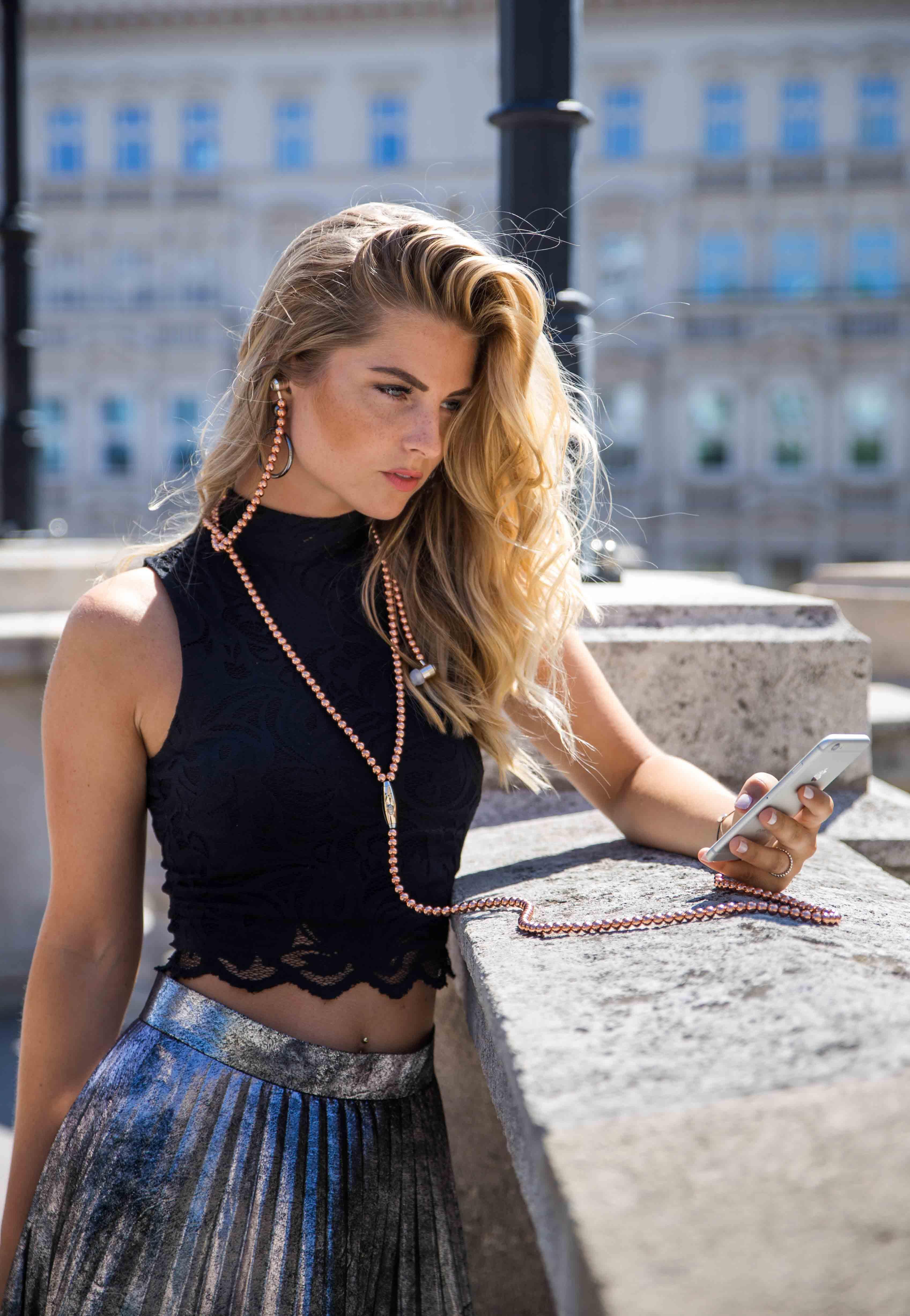 Summer fashion editorial in Vienna