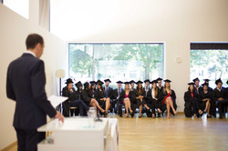 Graduation ceremony in Vienna