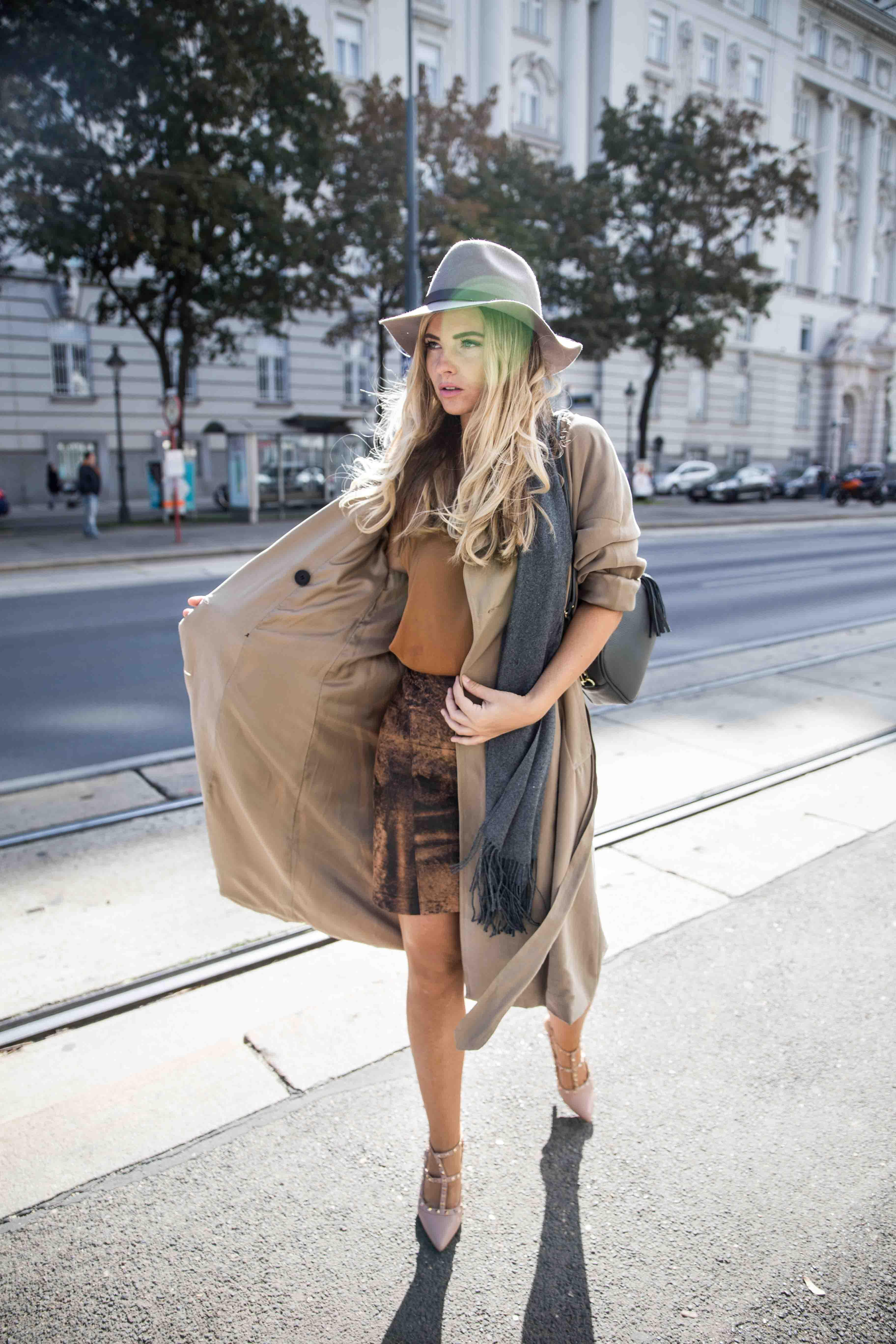 Fashion editorial in Vienna