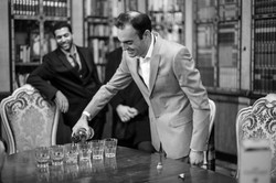 The Groomsman having a drink, Vienna