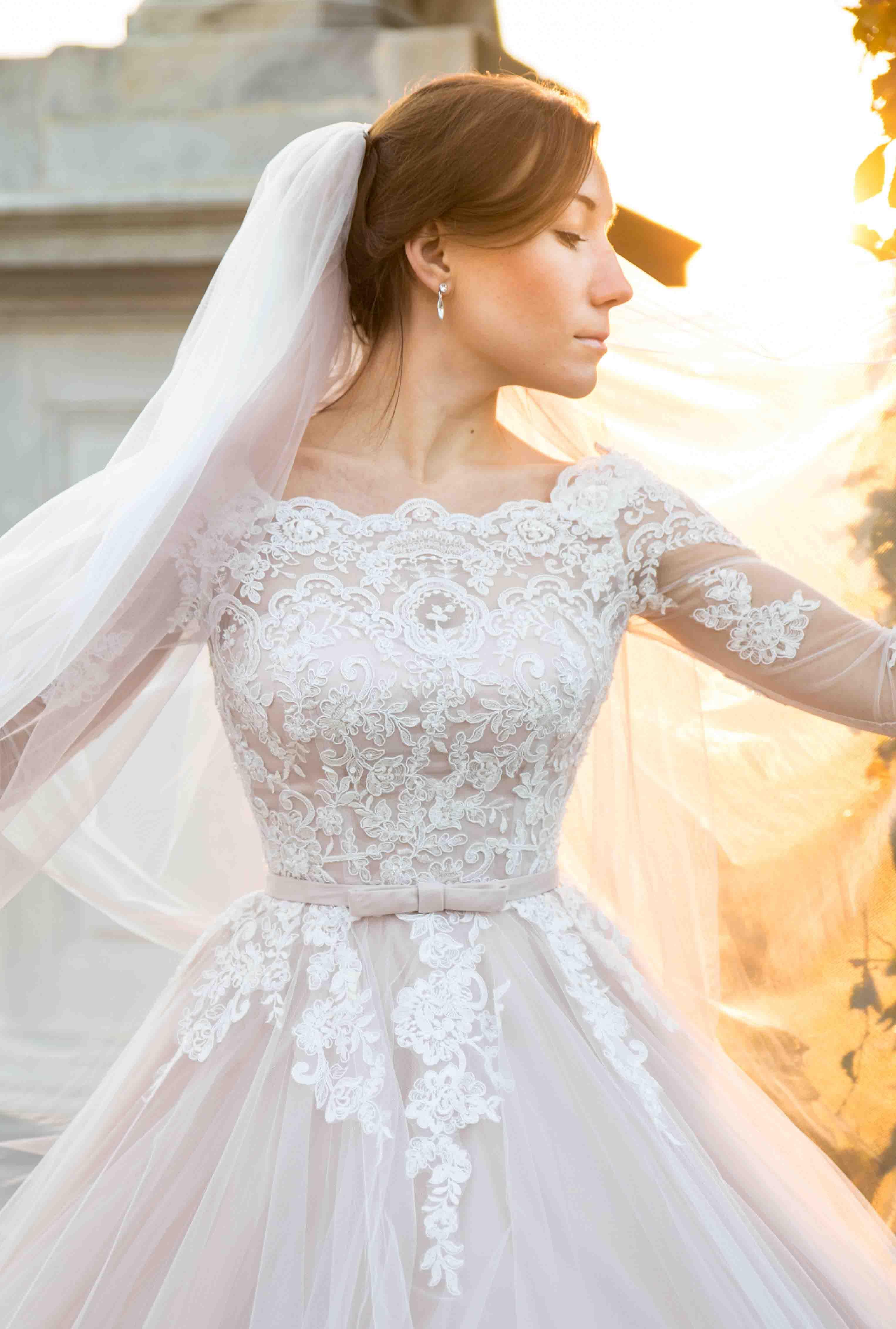 Braut in Scönbrunn, Wien