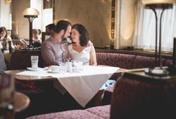 Verlobung im Cafe Central Wien