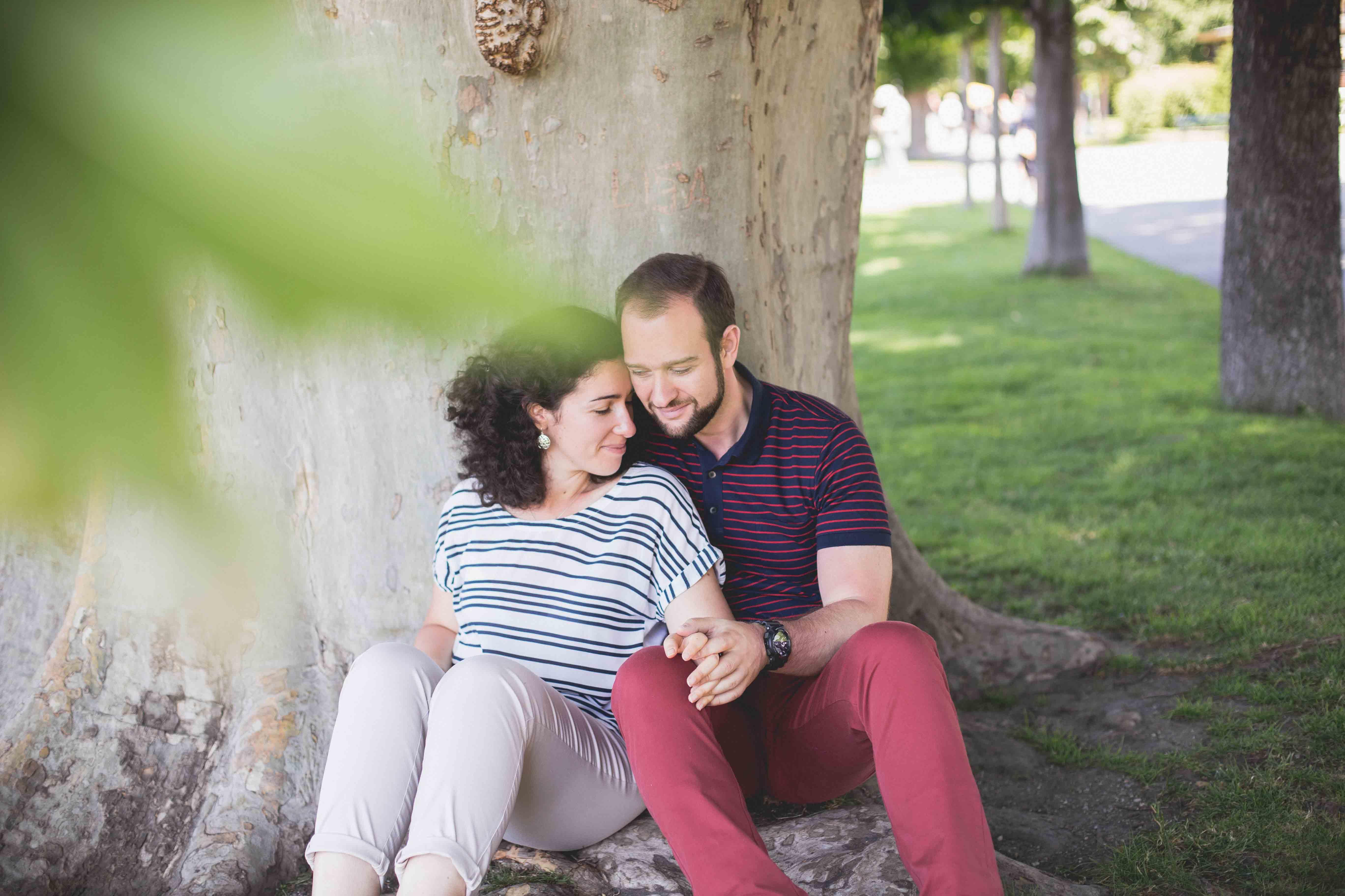Verlobungsshooting, Burggarten