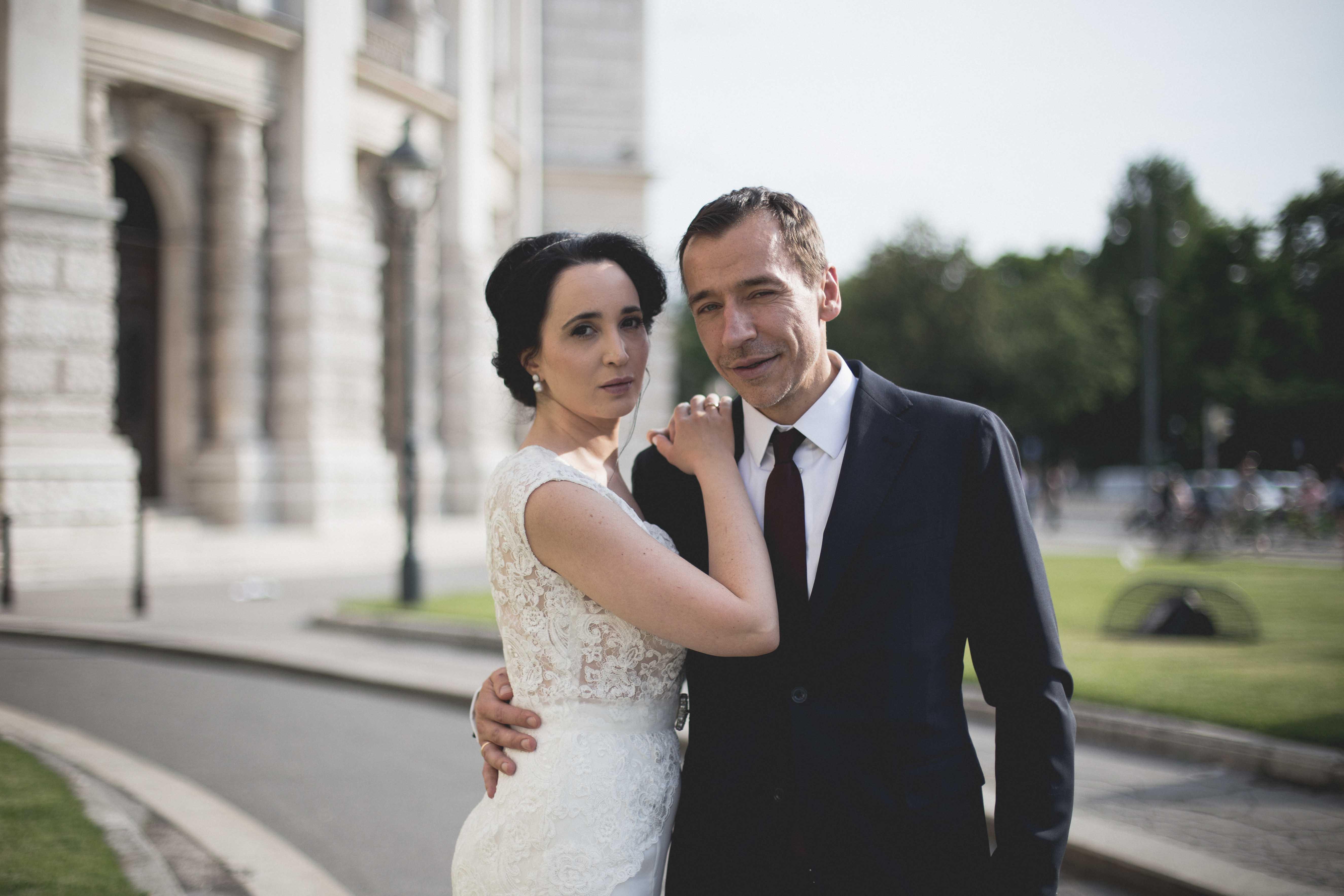 Stilvolle Hochzeit in Wien
