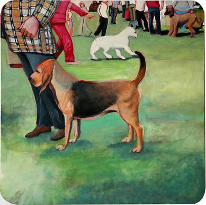Bloodhound, Trenton Dogshow of 1979