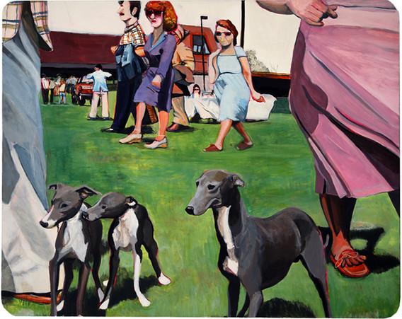 Miniature Greyhounds, Trenton Dog Show of 1979
