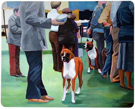 Boxers, Trenton Dog Show of1979