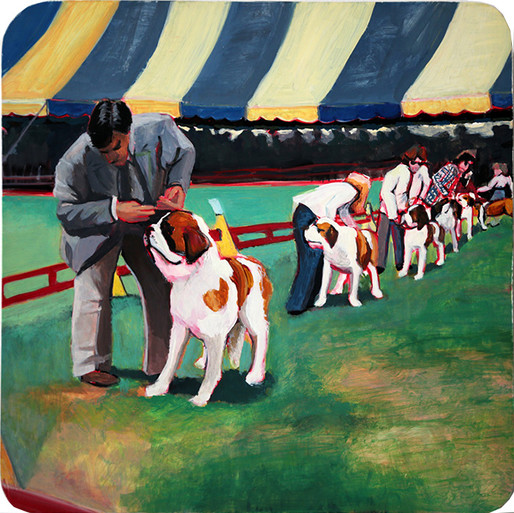 St. Bernards, Trenton Dog Show of 1979