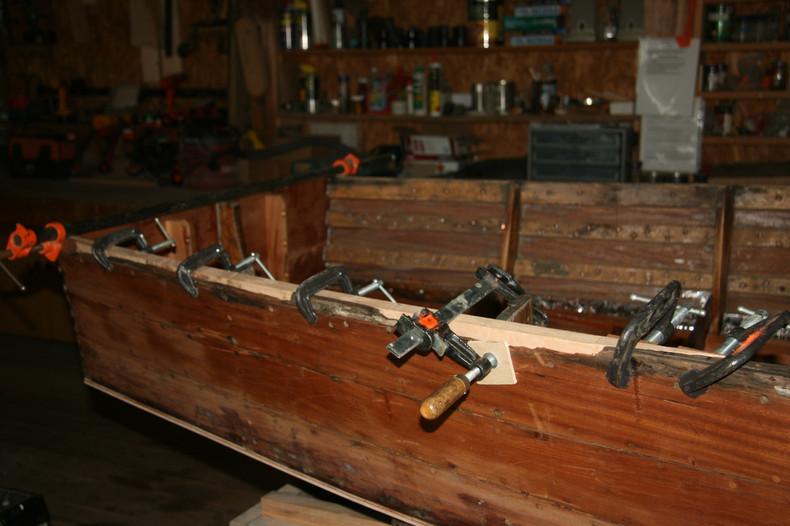 Shear log repairs