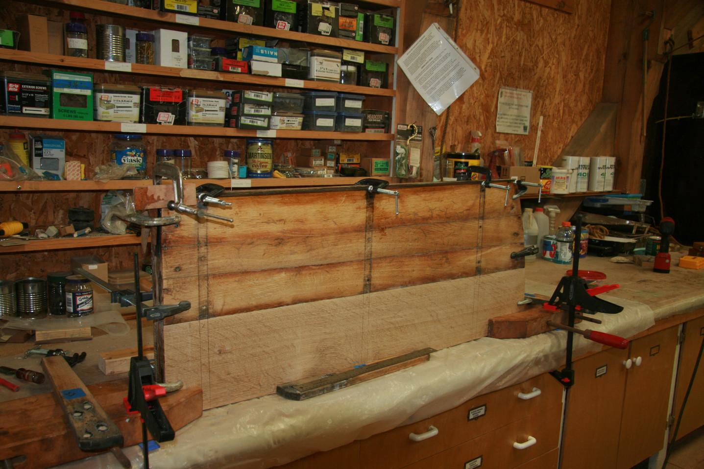 Assembled swordbox