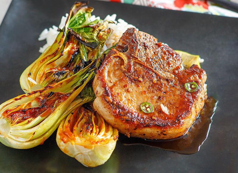 Porter House Pork Chop