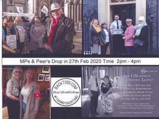 Invite your MPs to drop in