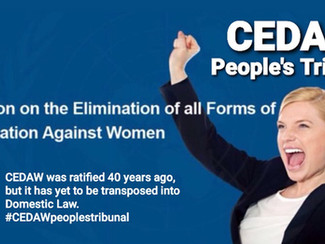 Cedaw People's Tribunal