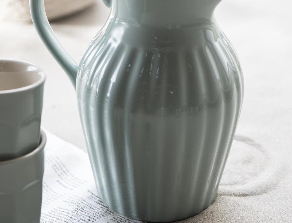 Steingut Kanne von IB Laursen Green Tea 1,7 L