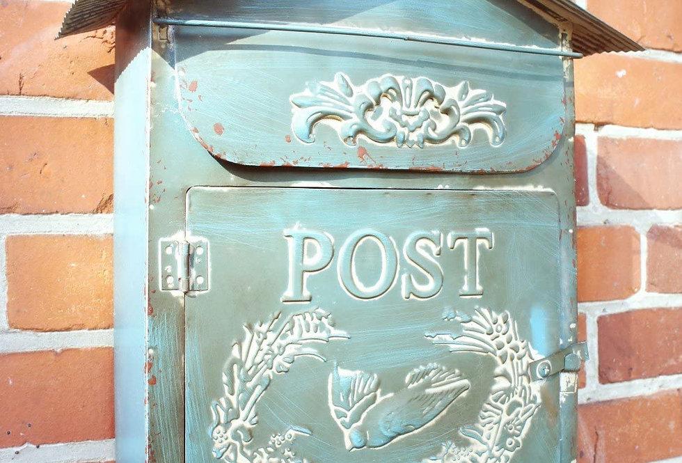Briefkasten türkis