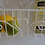 Thumbnail: Zauberhafter Landhaus Wandkorb LENA in weiß, Shabby antique Chic, Metall