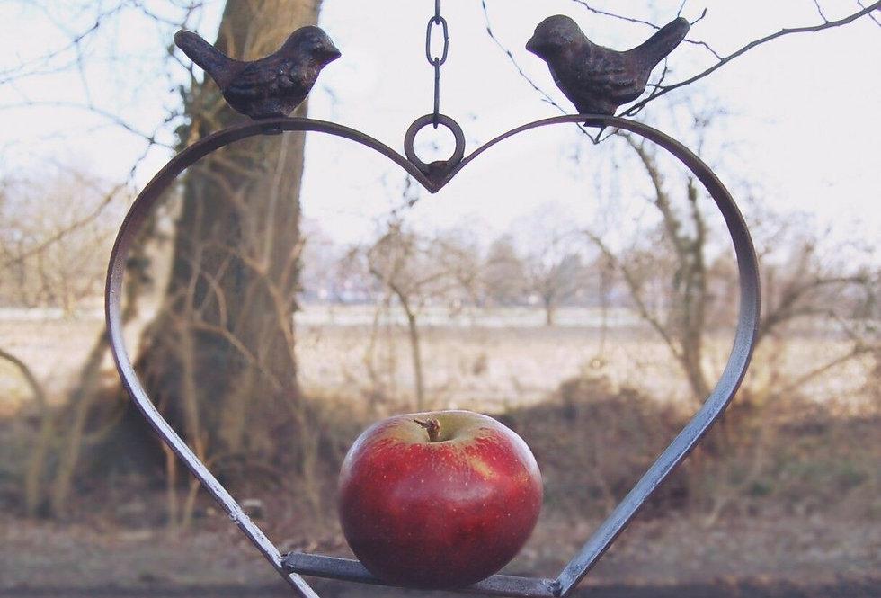 Vogelfutter Herz
