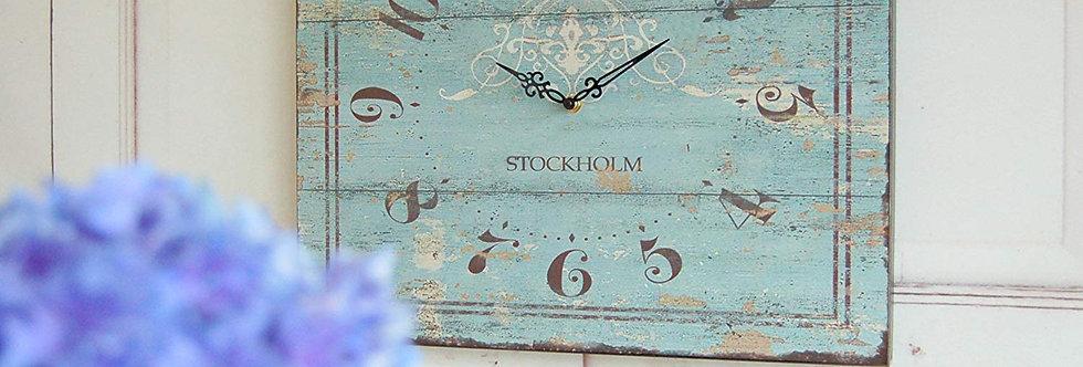 Wanduhr Stockholm
