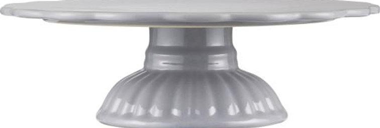 Tortenplatte French Grey aus Steingut