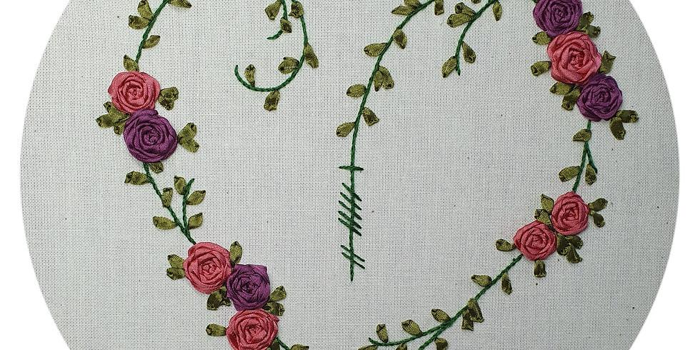 Ribbonwork Heart ¦ €75