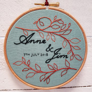 Anne and Jim wedding gift