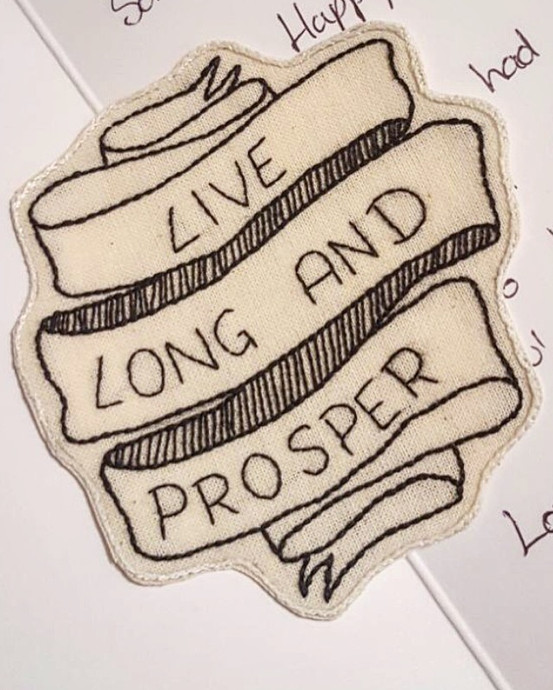 Live Long And Prosper Patch
