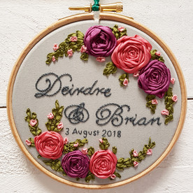 Deirdre and Brian anniversary wedding gift
