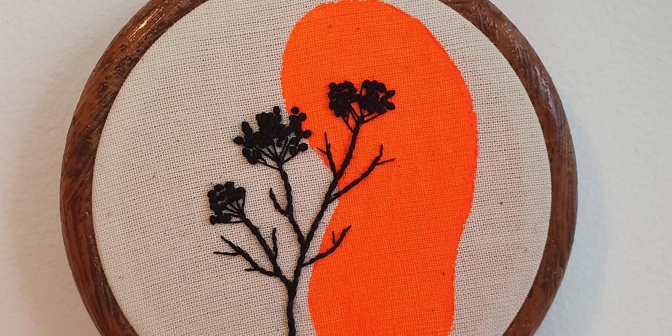 Botanic Embroidery Workshop ¦ €25