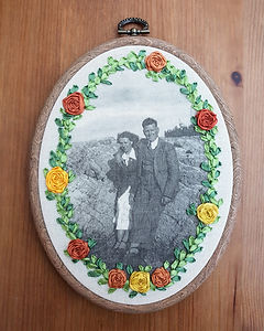 Embroidered_Photograph wedding anniversary gift
