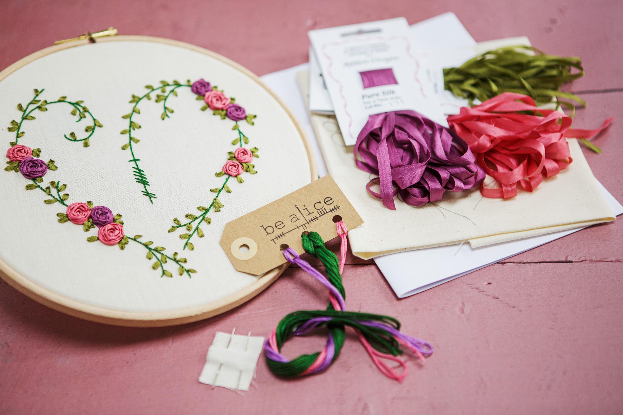 Ribbon Heart Kit