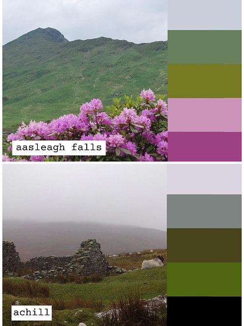 Thread Palette Postcards