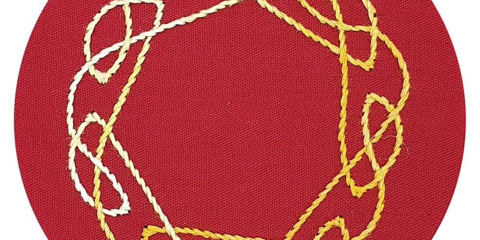 Celtic Knot Embroidery Workshop ¦ €20