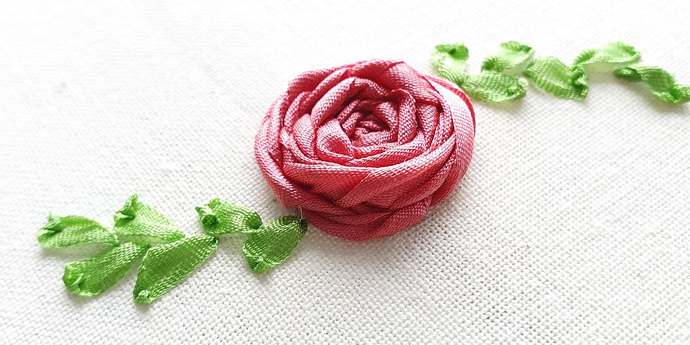 Intro to Ribbon Embroidery ¦ €25