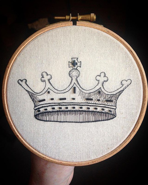 Crown handmade birthday gift