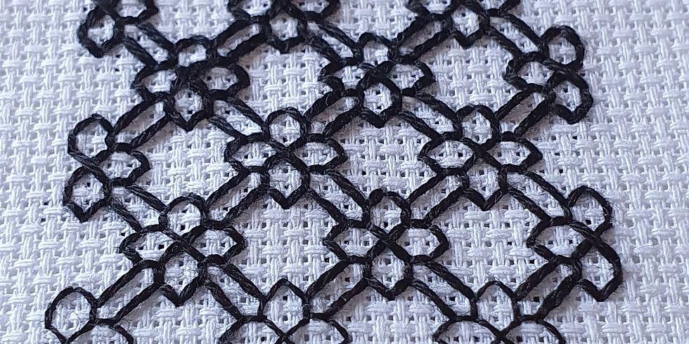 Blackwork Embroidery Workshop ¦ €25