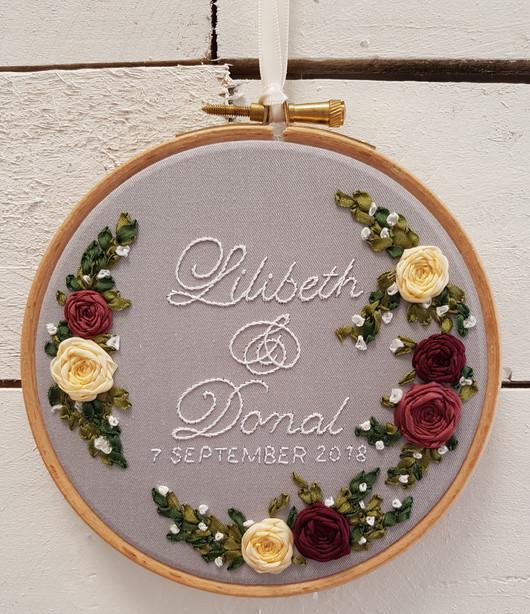 Lilibeth and Donal wedding gift