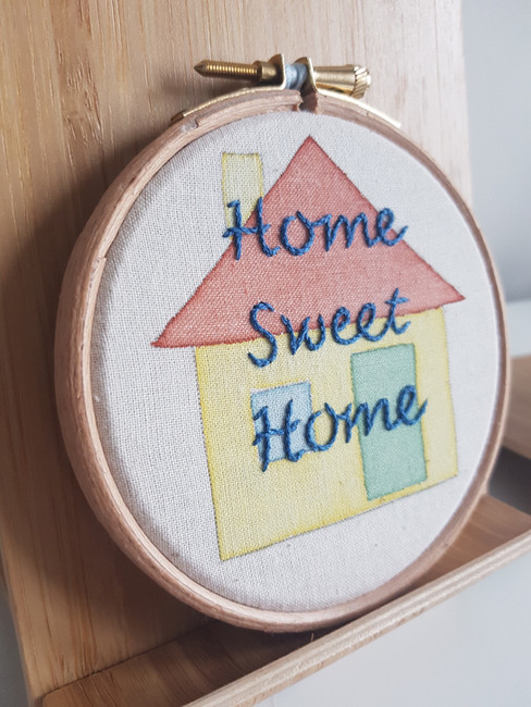 Home Sweet Home personalised gift