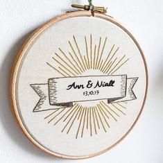 Ann and Niall wedding gift