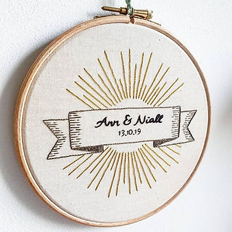 wedding embroidery commission
