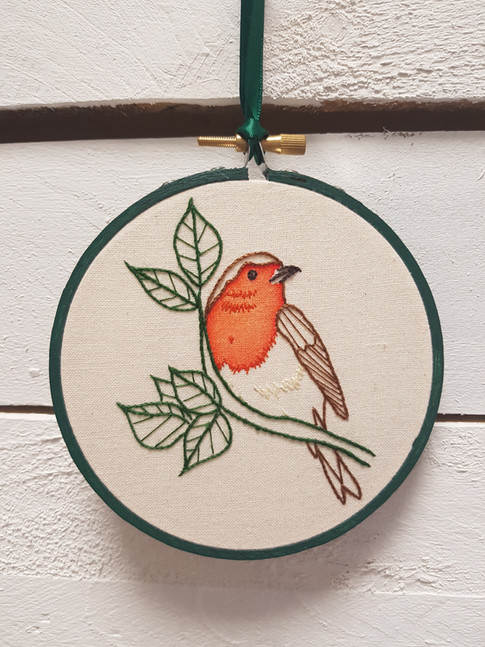 Robin christmas gift