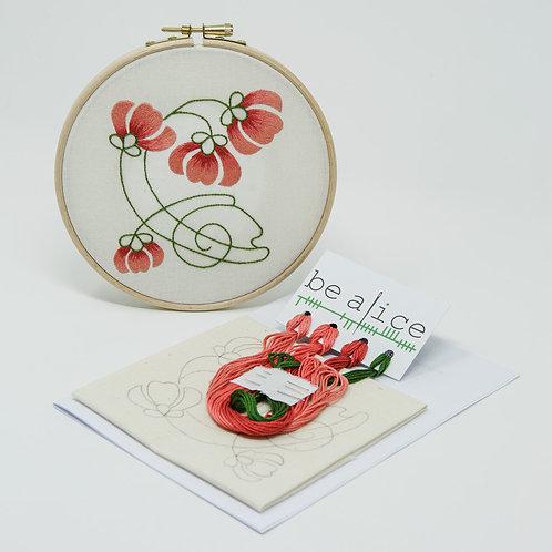 Silk Shaded Flowers Kit