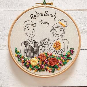 Rob and Sarah wedding gift
